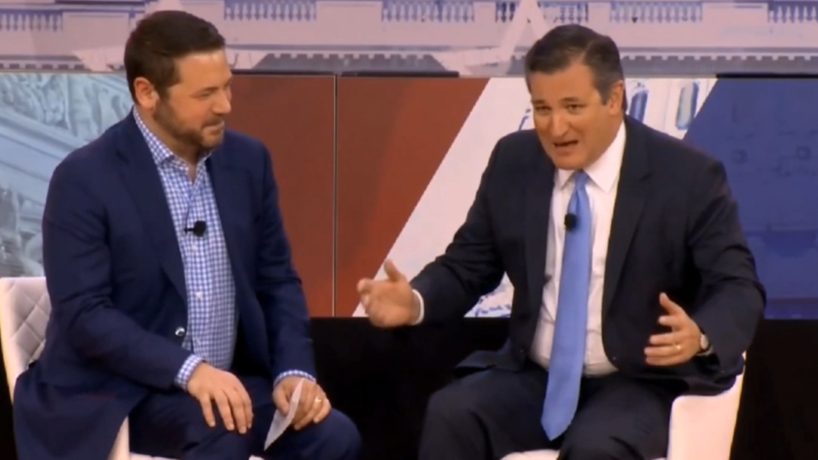 Ted Cruz at CPAC: 'Democrats are the party of Lisa Simpson'