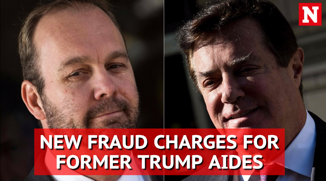 Robert Mueller files 32 new fraud charges against trump ex-aides Paul Manafort and Rick Gates