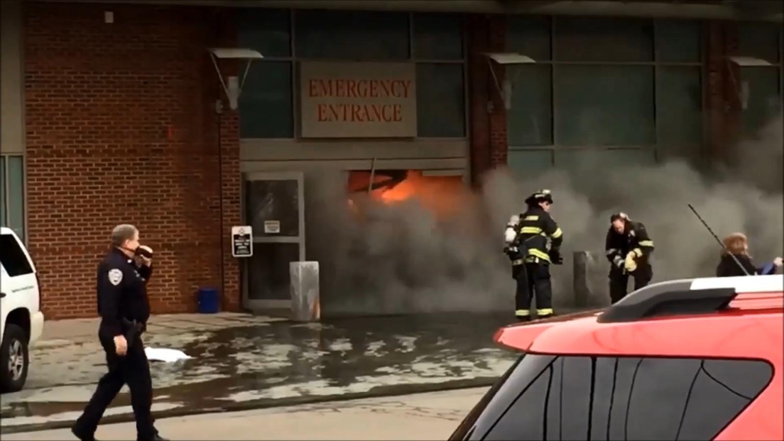 man-crashes-car-into-connecticut-hospital-emergency-ward