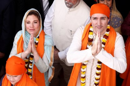 Justin Trudeau on India visit