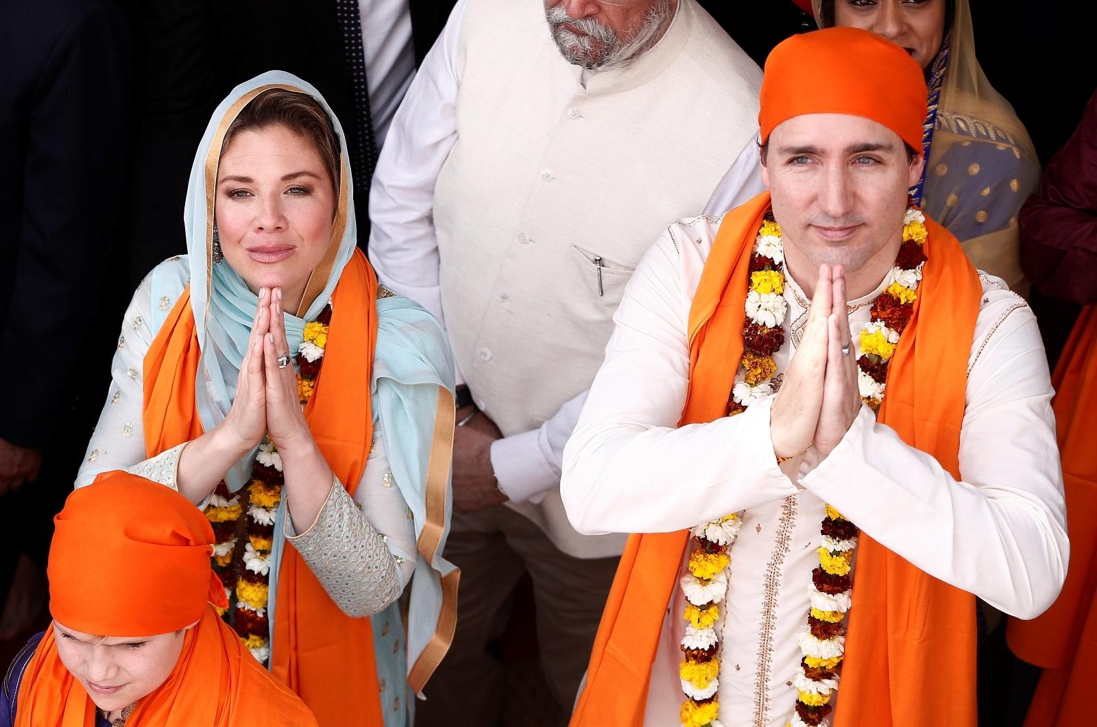 Justin Trudeau on India visit