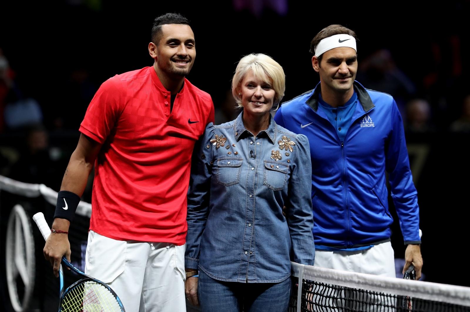 Nick Kyrgios-Roger Federer