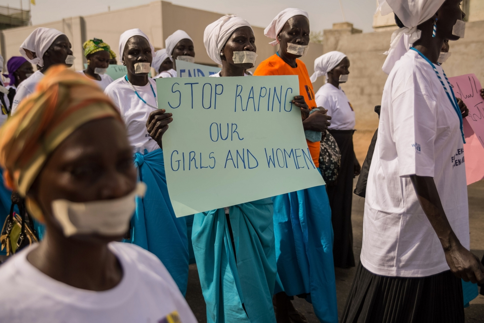 South sudan war men castrated and children forced to watch rape women from more than forty south sudanese womens organizations carry placards as march through the city to express the frustration and suffering that women publicscrutiny Image collections