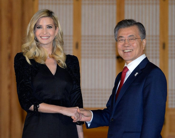 Moon Jae-In Ivanka Trump
