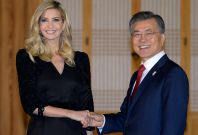 Moon Jae-In Ivanka Trump
