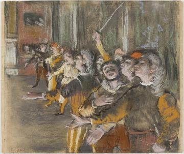 Degas' Les Choristes