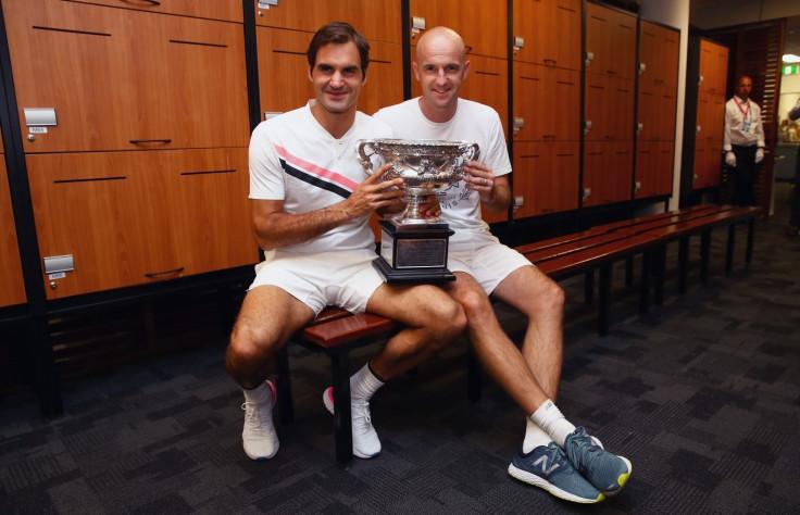 Ivan Ljubicic and Roger Federer
