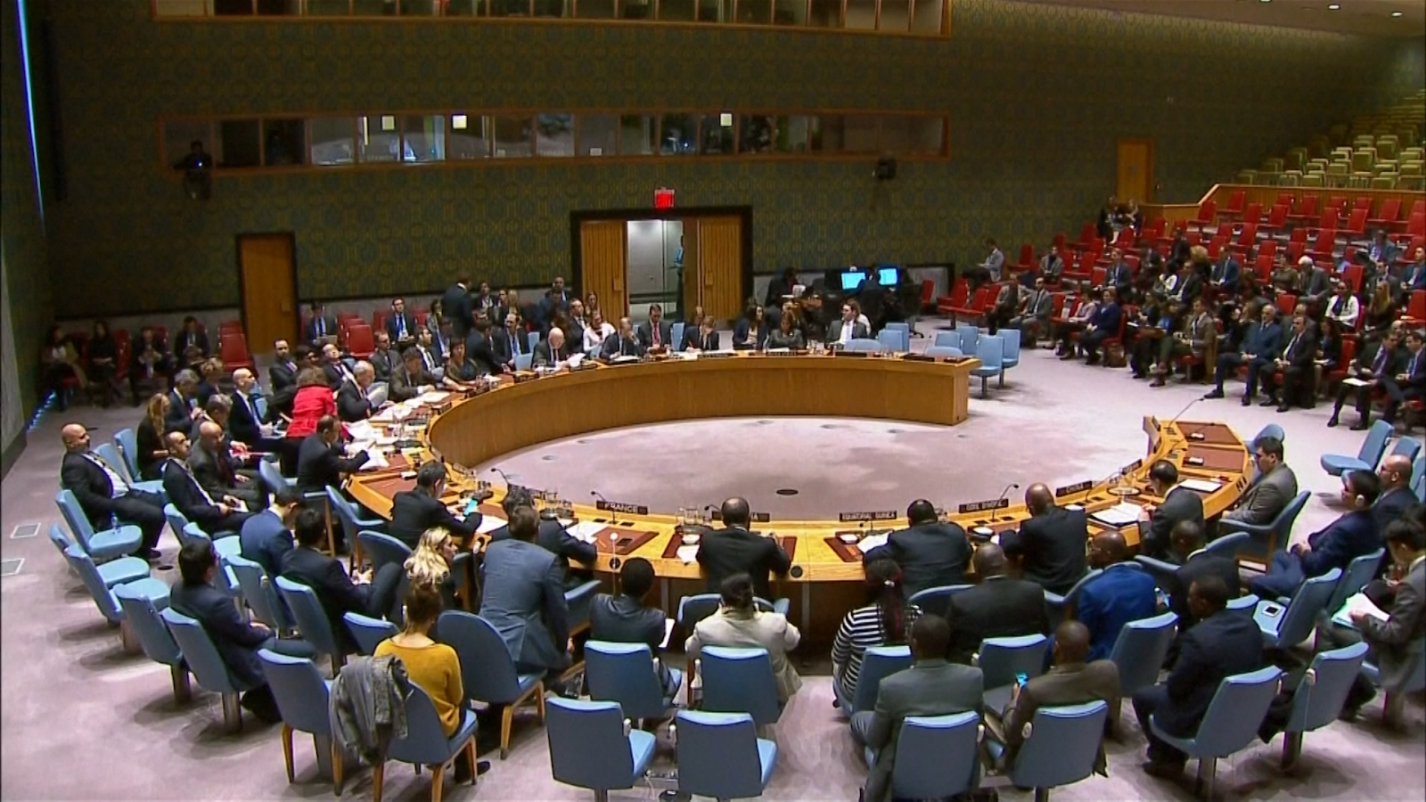 U.N. Security Council Demands Truce As Air Strikes Continue
