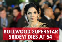 Bollowood's First Female Superstar Sridevi Kapoor Dies at 54