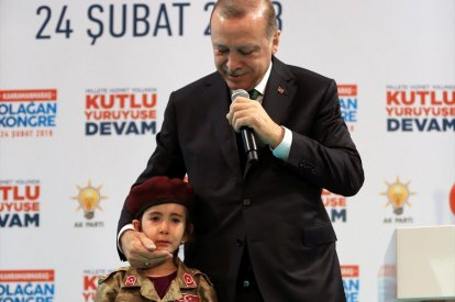 Erdogan girl martyr