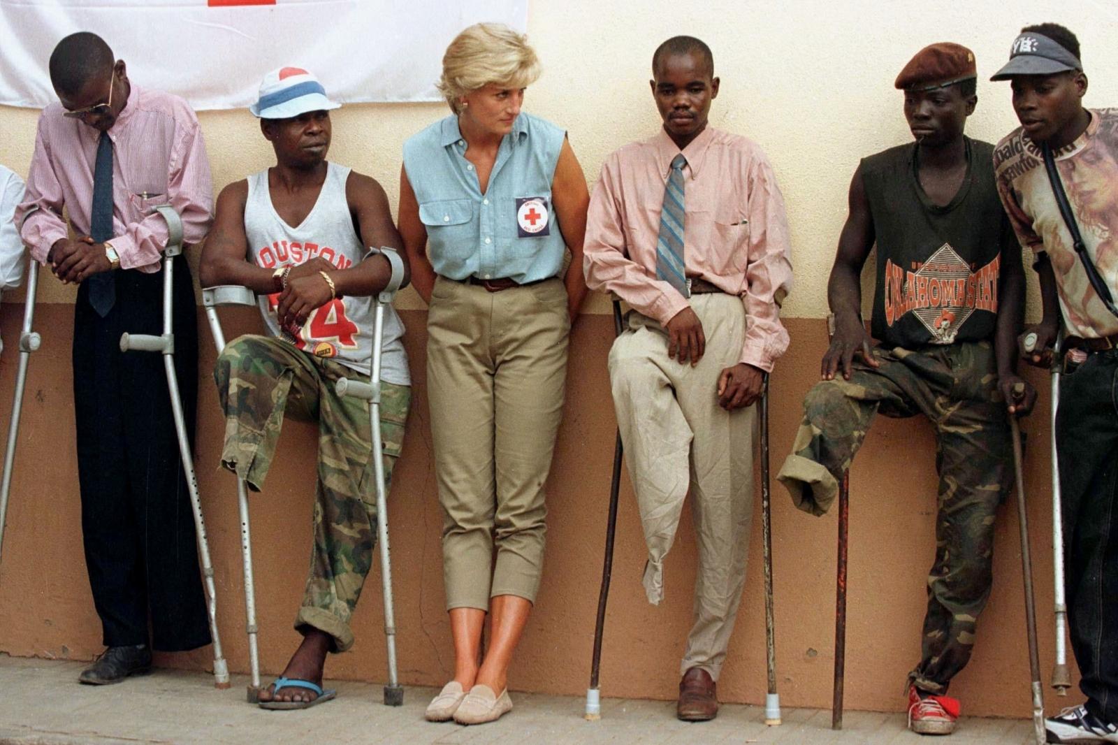 Princess Diana landmine victims