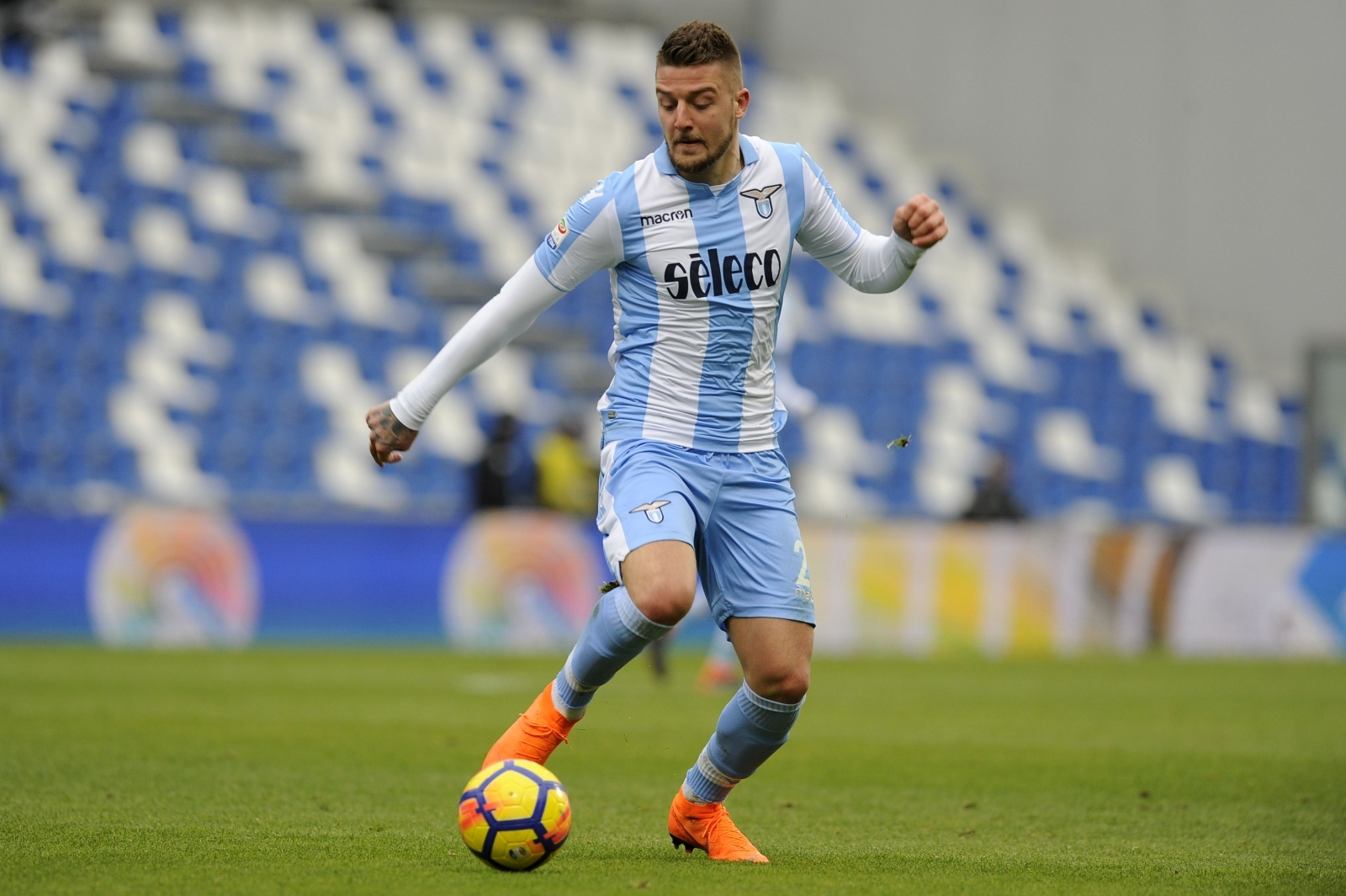 Milinkovic-Savic nets 2 in Lazio win; Juve game snowed out