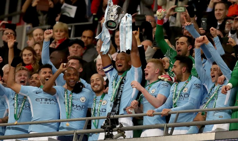 Vincent Kompany Targets More Manchester City Trophies After Carabao Cup Win