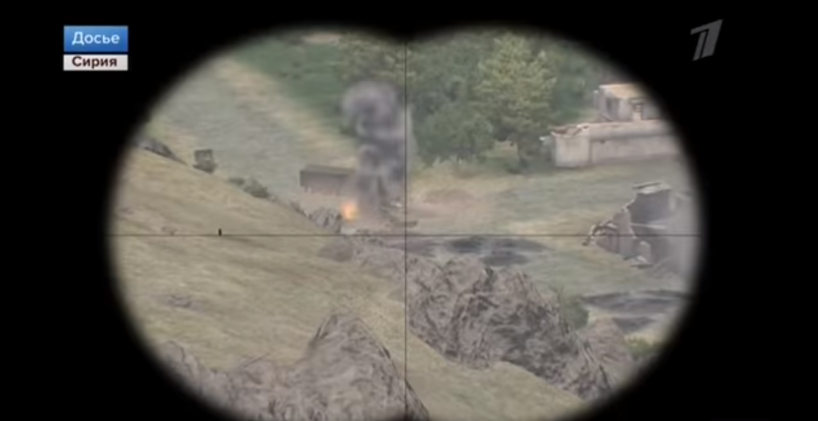 Russia video game clip