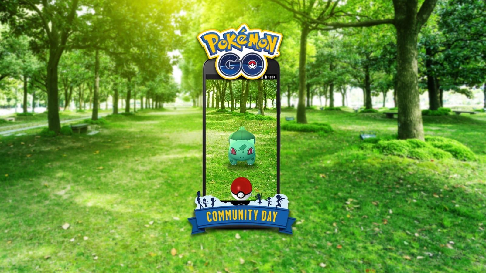 Pokemon Go Community Day Bulbasaur