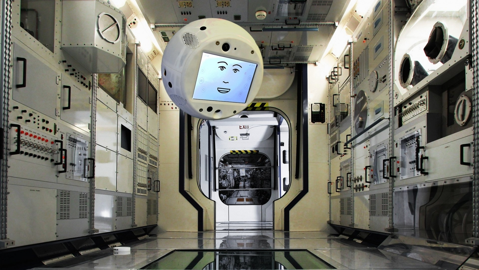 IBM Is Sending a Floating Robot Head Into Space