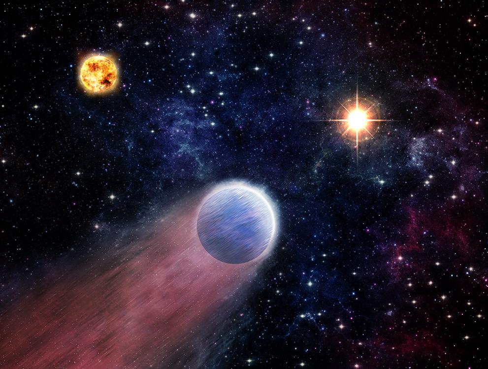 Supermassive black hole bursts