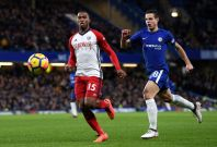 Daniel Sturridge and Cesar Azpilicueta