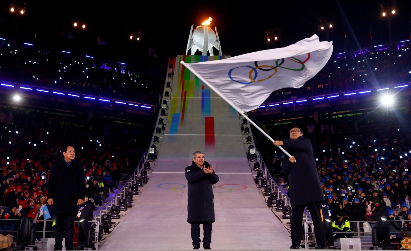 Russia's Olympic membership has been restored, according to the head of the country's Olympic Committee