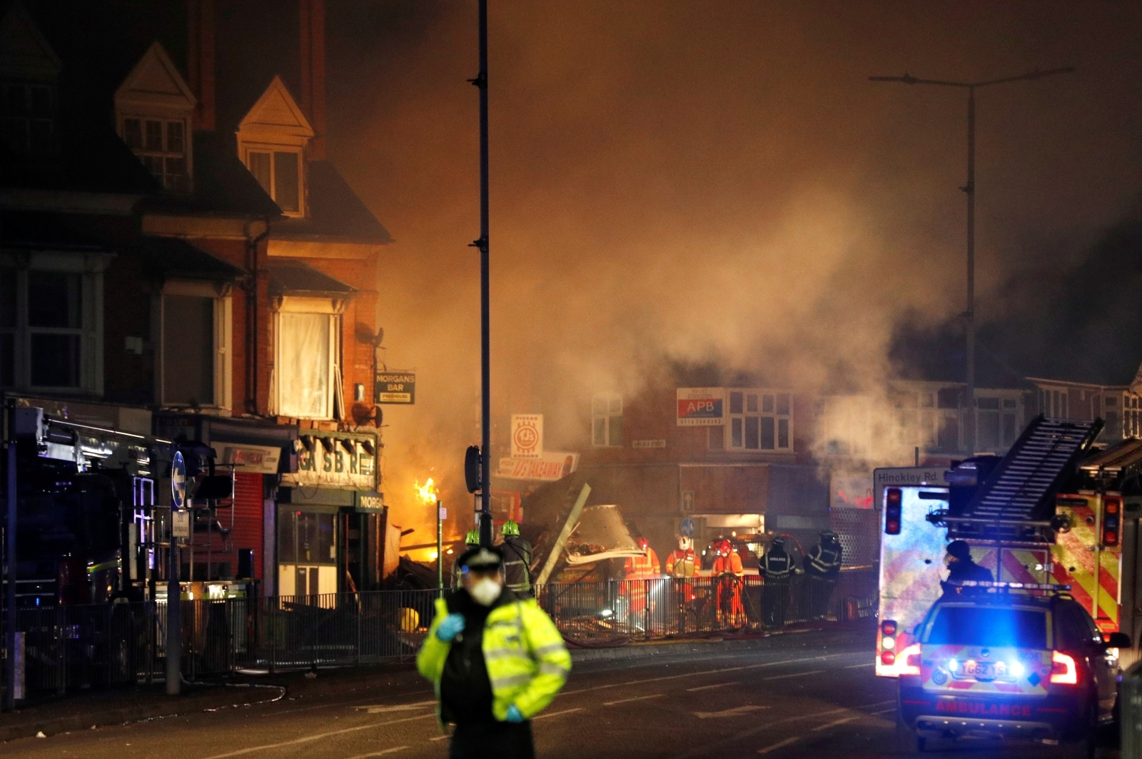 Three men arrested on suspicion of manslaughter over deadly Leicester fire