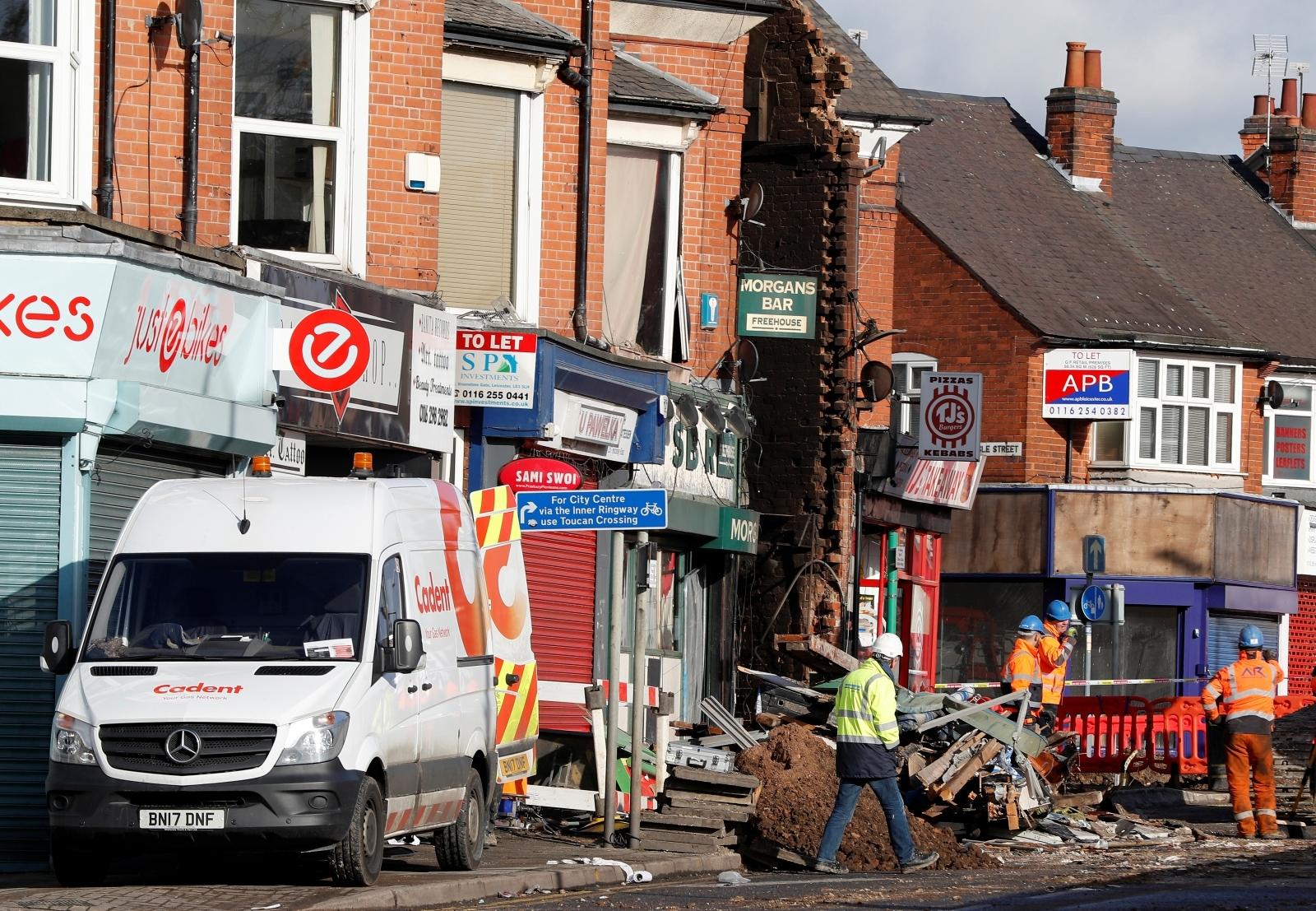 Leicester blast 1