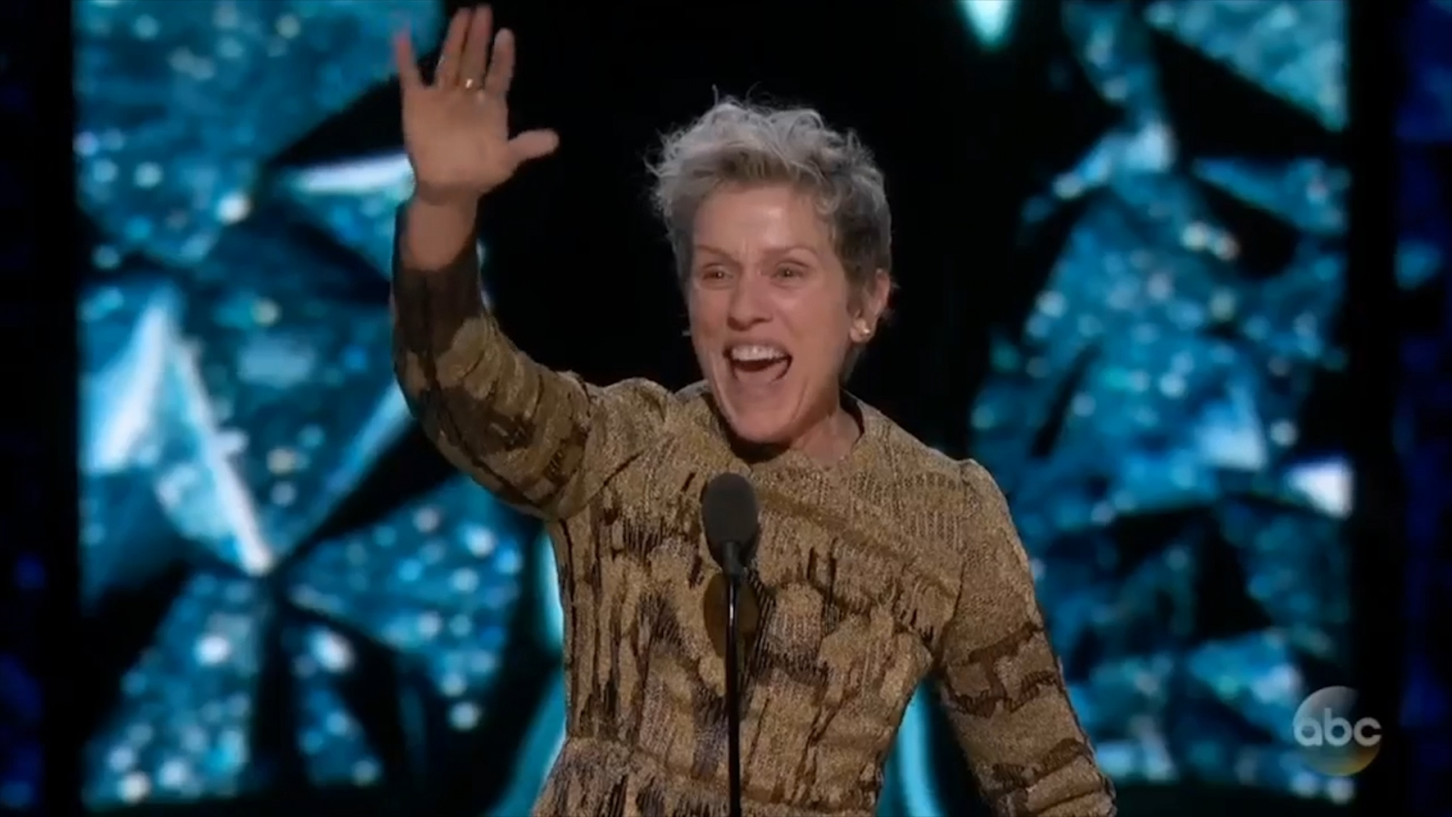 Oscars 2018 Best Actress Winner Frances McDormand Honors Female Filmmakers: 'Two Words, Inclusion Rider'