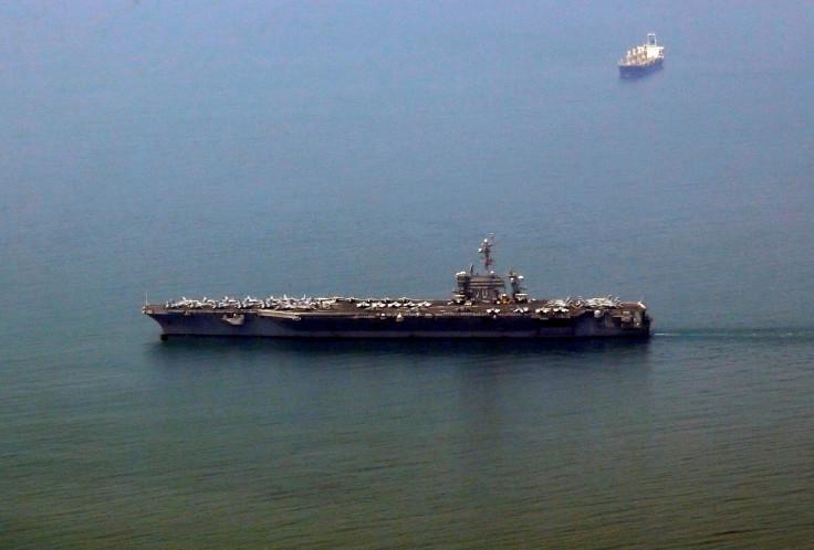 US aircraft carrier in Vietnam