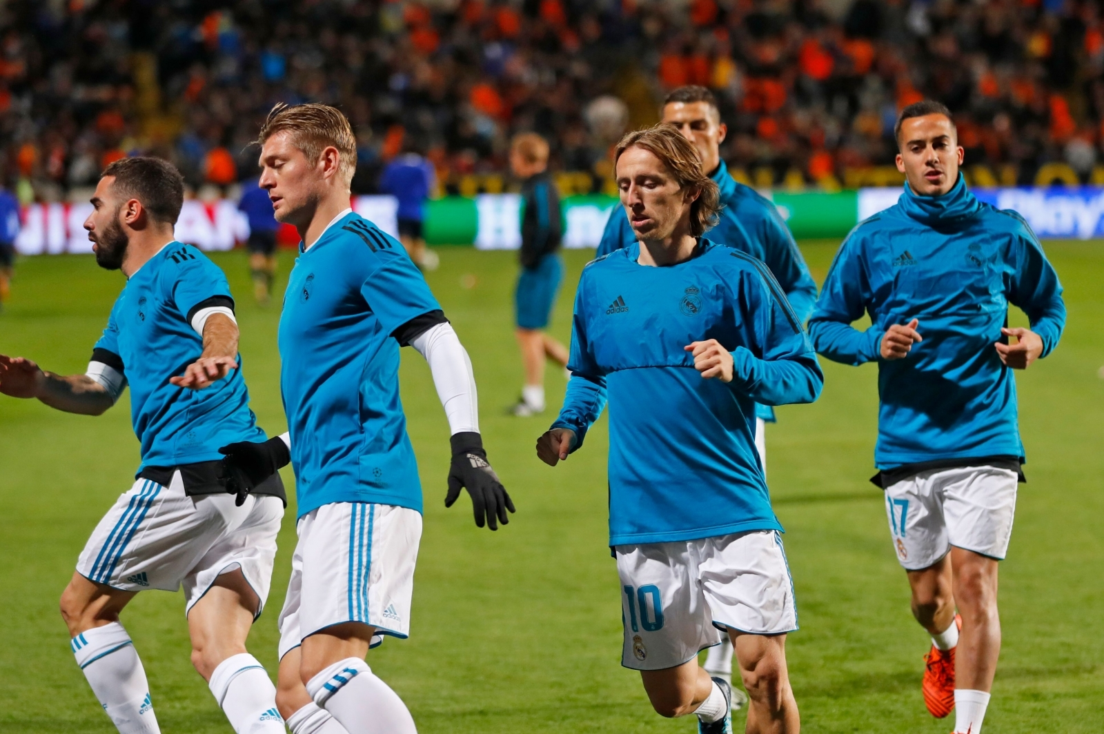 Luka Modric and Toni Kroos