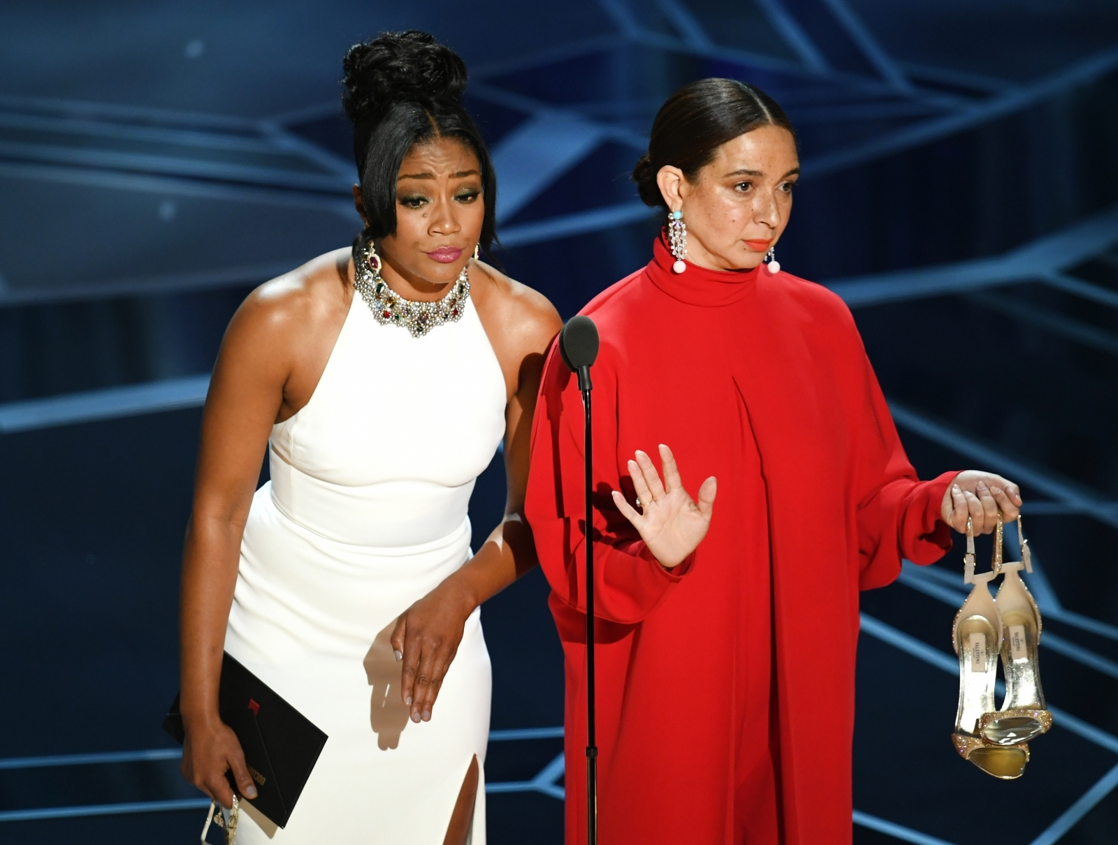 Tiffany Haddish's Oscars gown was a tribute to her late Eritrean father
