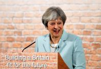 Theresa May housing speech
