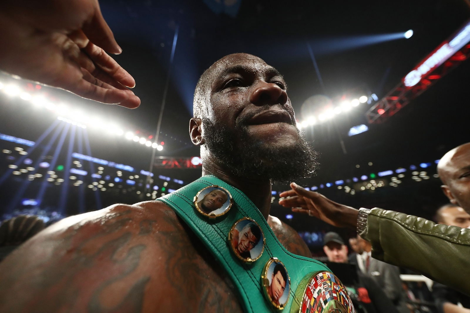 Evander Holyfield: Anthony Joshua, Deontay Wilder should fight 'while money's there'