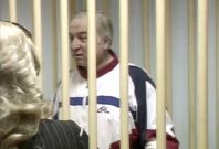 Sergei Skripal, a former colonel of Russia's military intelligence service, attending a hearing at the Moscow military district court in 2006
