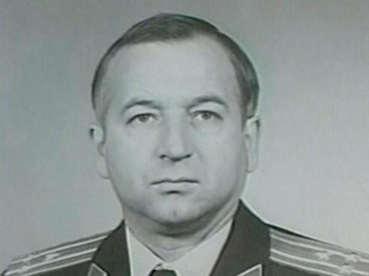 An older photo of Sergei Skripal in military uniform