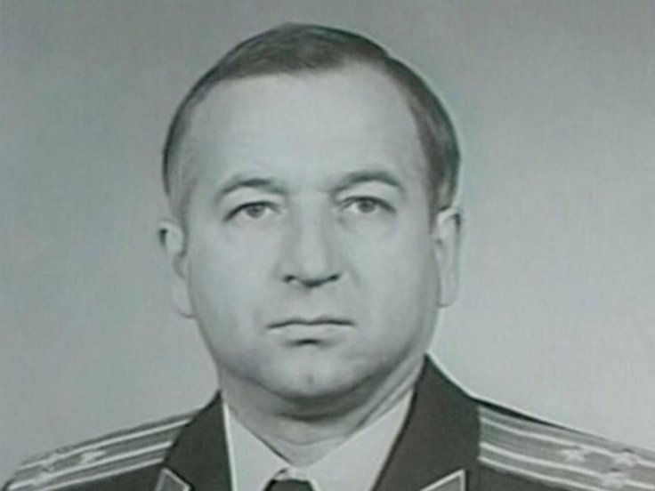 An older photo of Sergei Skripal in military uniform