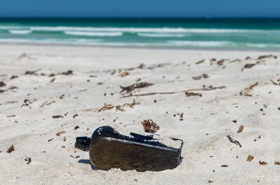 Oldest message in a bottle found after 132 years