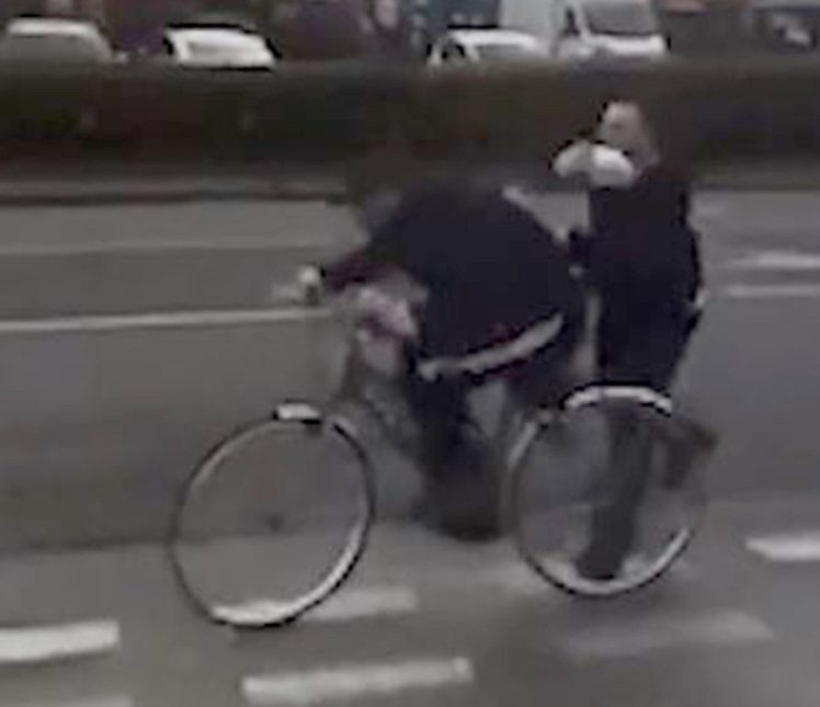 Lidl worker filmed repeatedly whacking cyclist with joint of pork