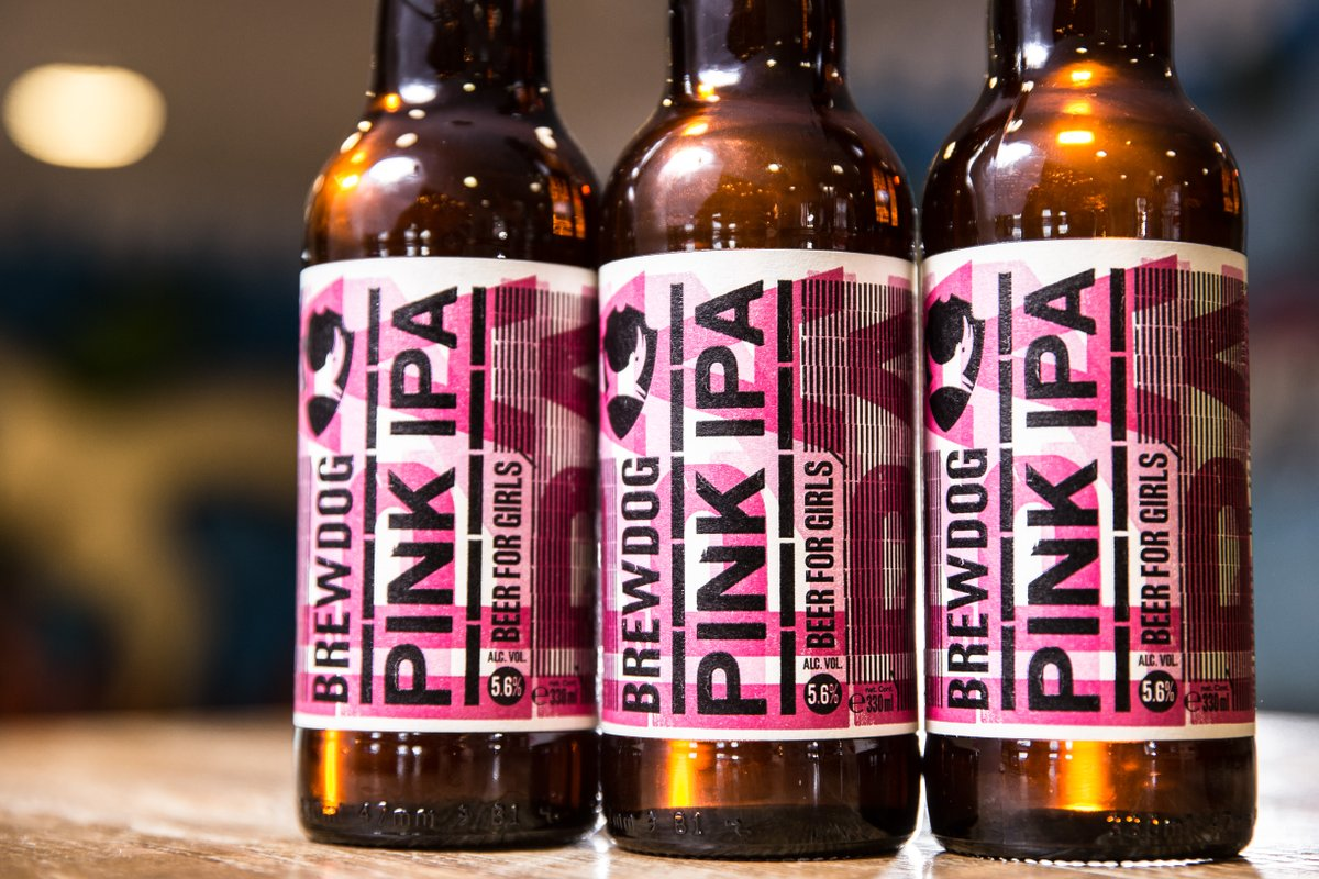 BrewDog Pink: Twitter reacts to 'ironically' sexist beer