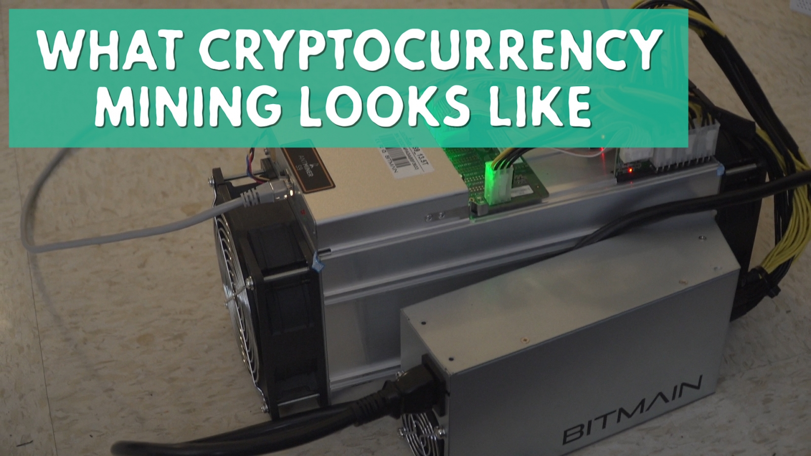 Cryptocurrency: This Is What Bitcoin Mining Looks Like