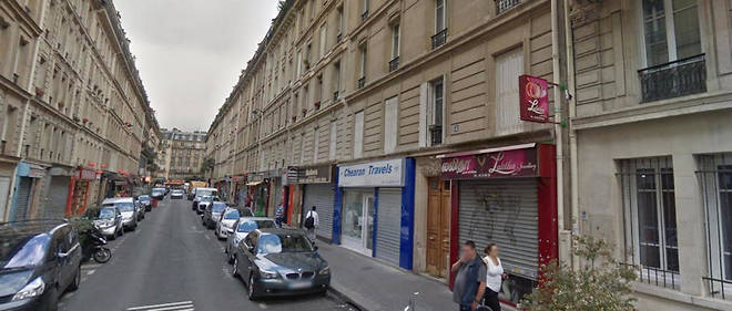 """A man was """"scalped"""" by attackers with a machete as he ate dinner with his wife in a restaurant on Rue Cali in Paris"""