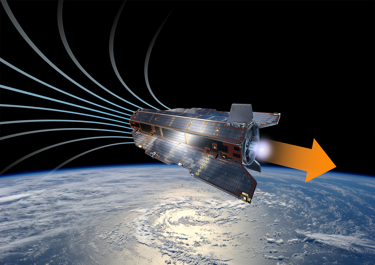 World First Air-breathing Space Engine Could Fly Satellites Around Mars