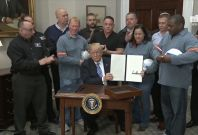President Trump Signs Tariffs on Steel and Aluminium