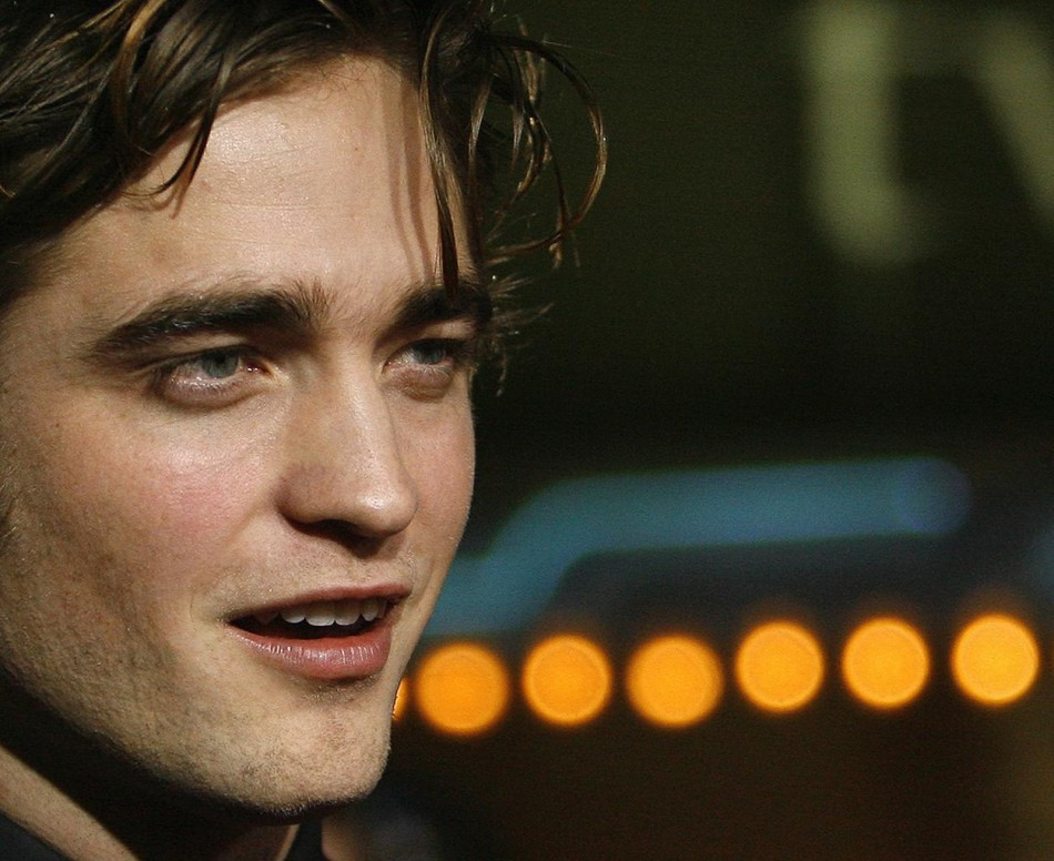"File photo of actor Robert Pattinson posing at the premiere of the movie ""Twilight"" in Los Angeles."