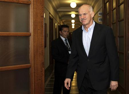 Greece's PM George Papandreou