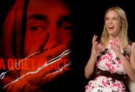 'A Quiet Place': Exclusive Interview With Emily Blunt & John Krasinski