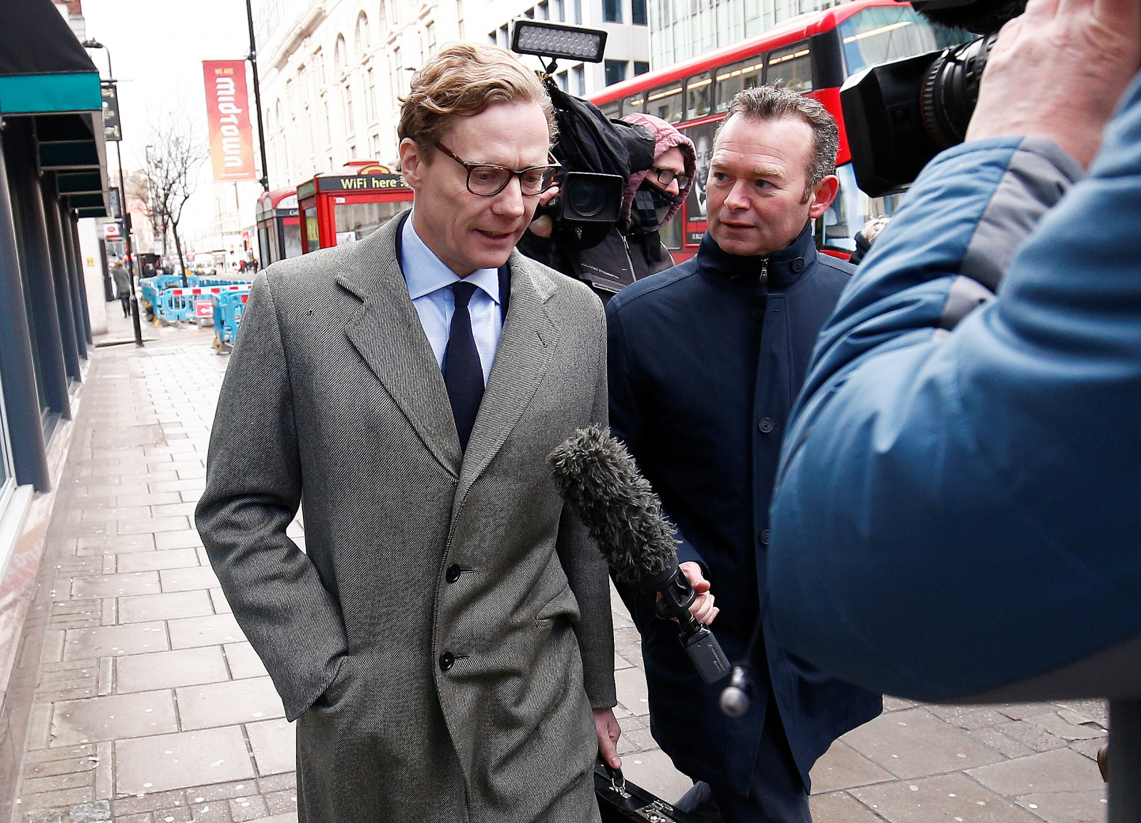 Alexander Nix, Cambridge Analytica