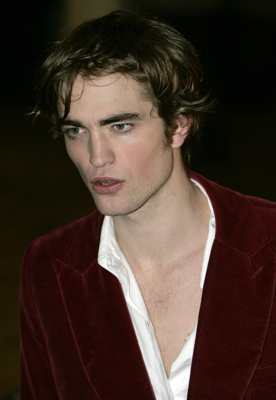 "Britain's Robert Pattinson arrives at the world premiere of ""Harry Potter and the Goblet of Fire"" at Leicester Square, London, November 6, 2005."
