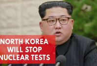 North Korea Says Will Stop Nuclear Tests