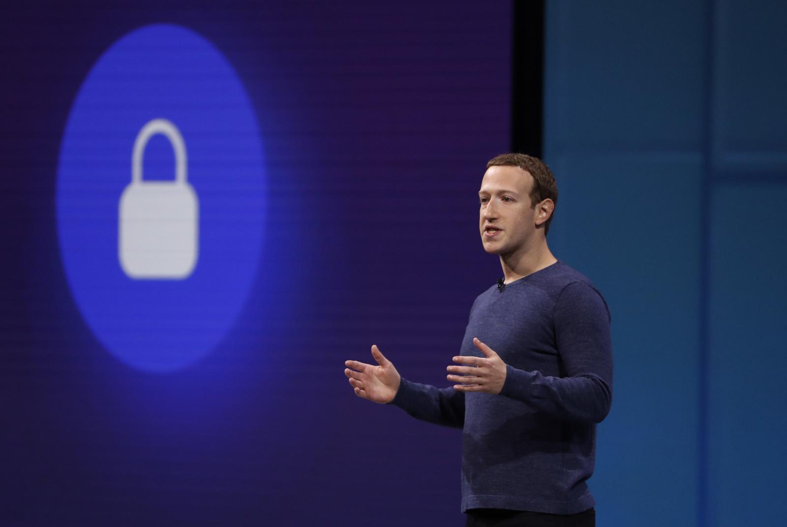 Mark Zuckerberg at F8 Conference