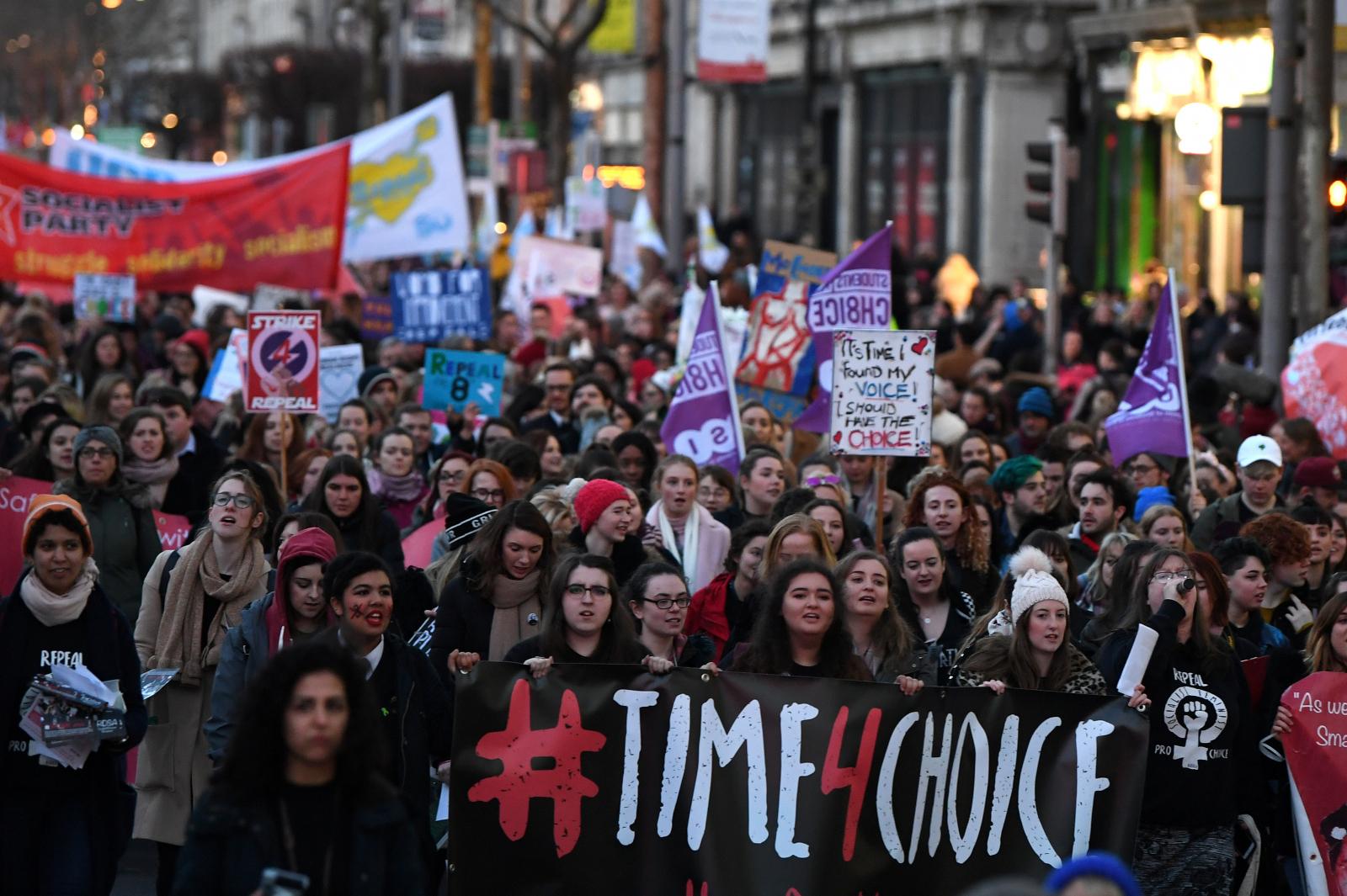 Ireland Pro-Abortion Rally