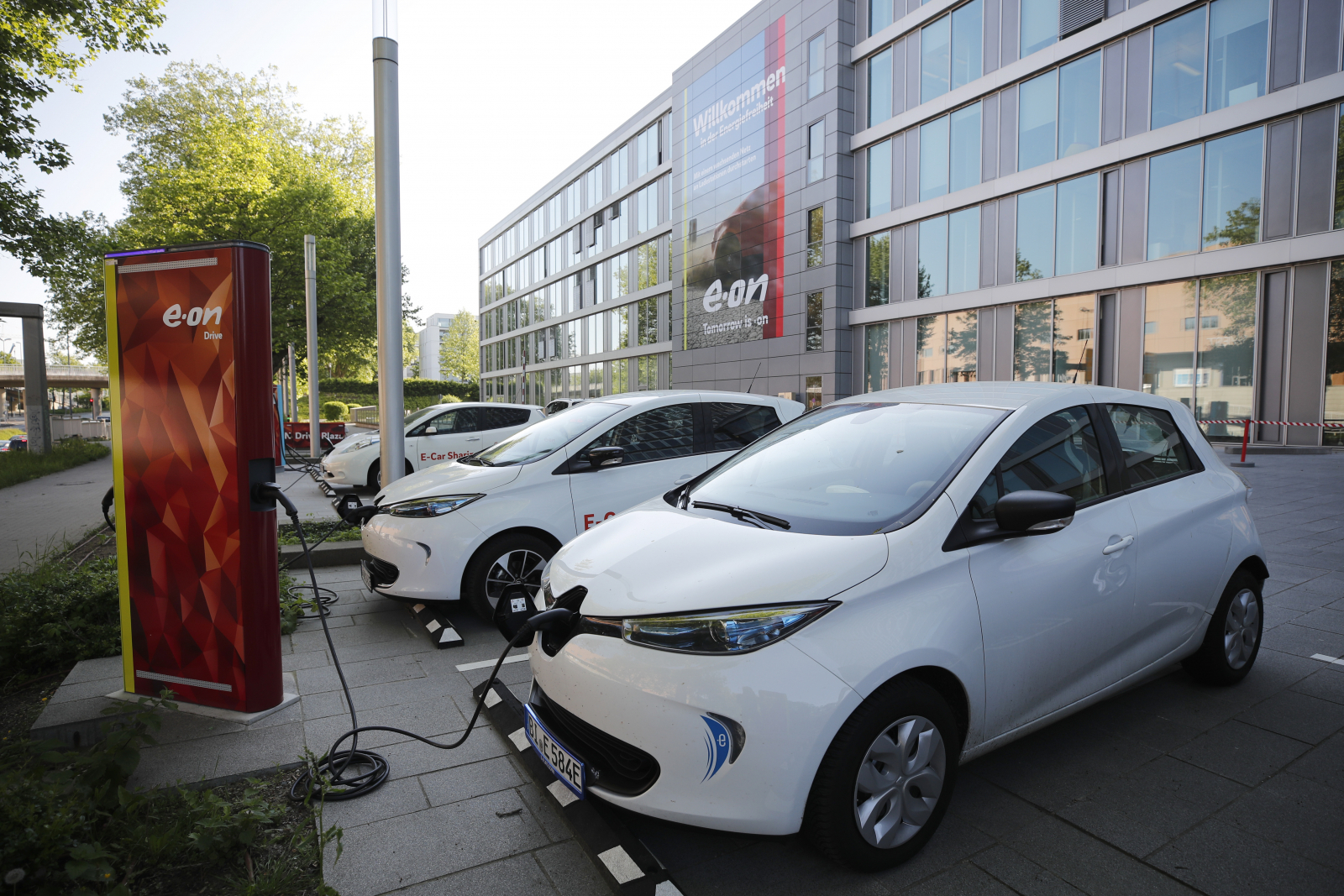 E.ON Car Charging Station